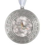 Angel in the Clouds Ornament