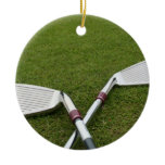 Golf Club Design Ornament