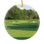 Golf Course Ornament