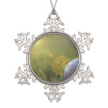 Golf on a Sunny Day Snowflake Pewter Christmas Ornament