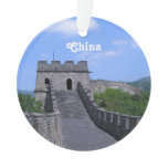 Great Wall in China Ornament
