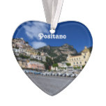 Positano Beach Ornament