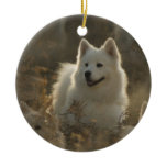 Samoyed Dog Ornament