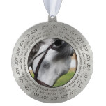 Sweet Appaloosa Horse Pewter Ornament